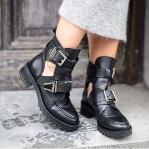 Sacha London Cutout Boot - like Balenciaga